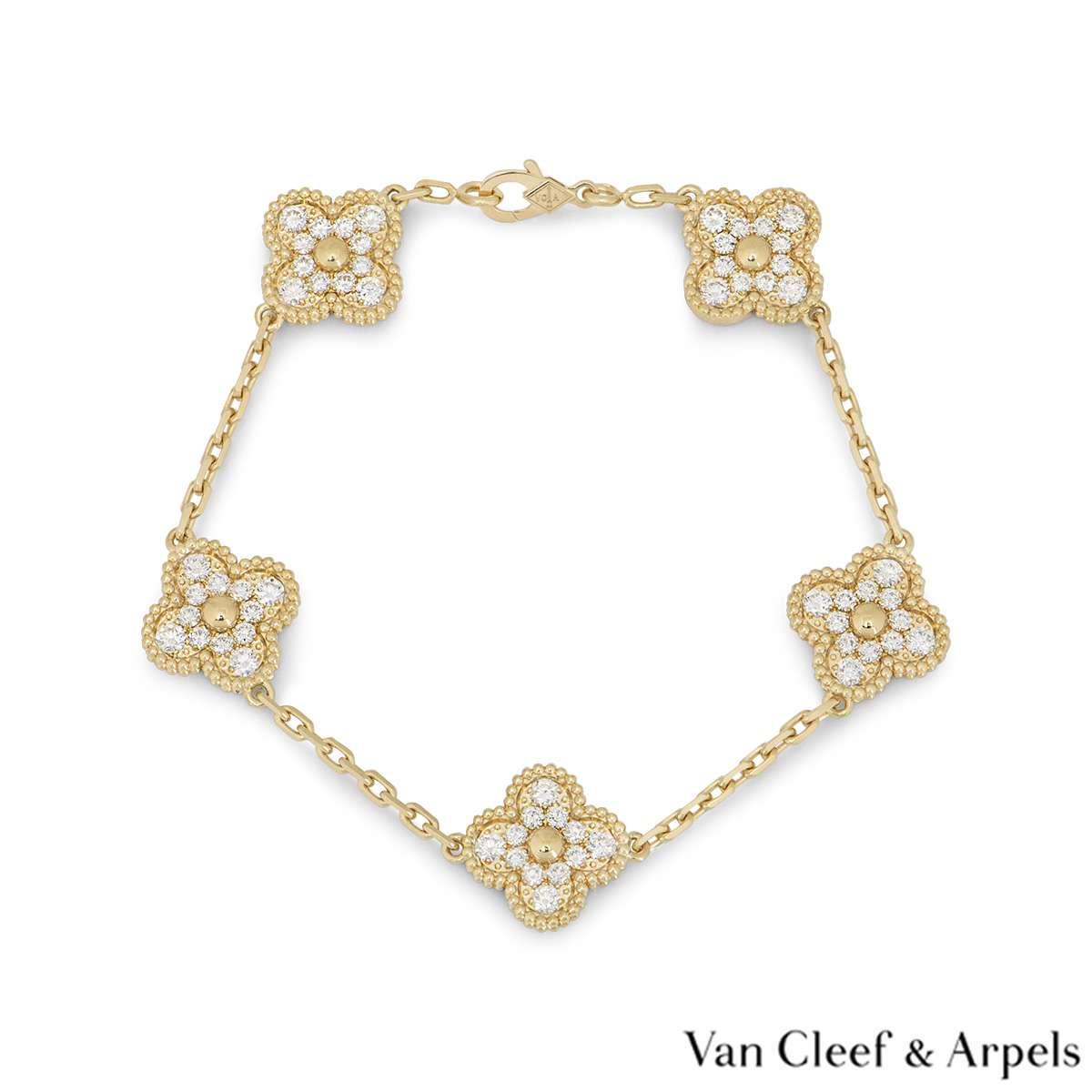 Van Cleef & Arpels Vintage Alhambra Bracelet VCARA41400